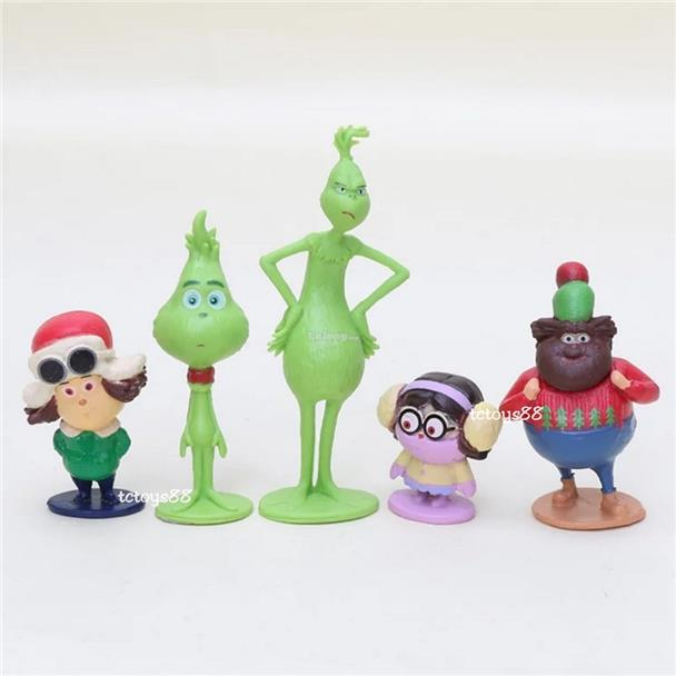 check out f2cc7 85e88 THE GRINCH FIGURE DR SEUSS GRINCH STOLE CHRISTMAS CAKE TOPPER TOYS