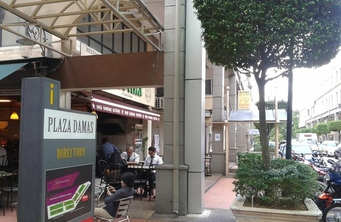 Ground and Mezzanine Retail Shop for sale, Plaza Damas, Sri Hartamas