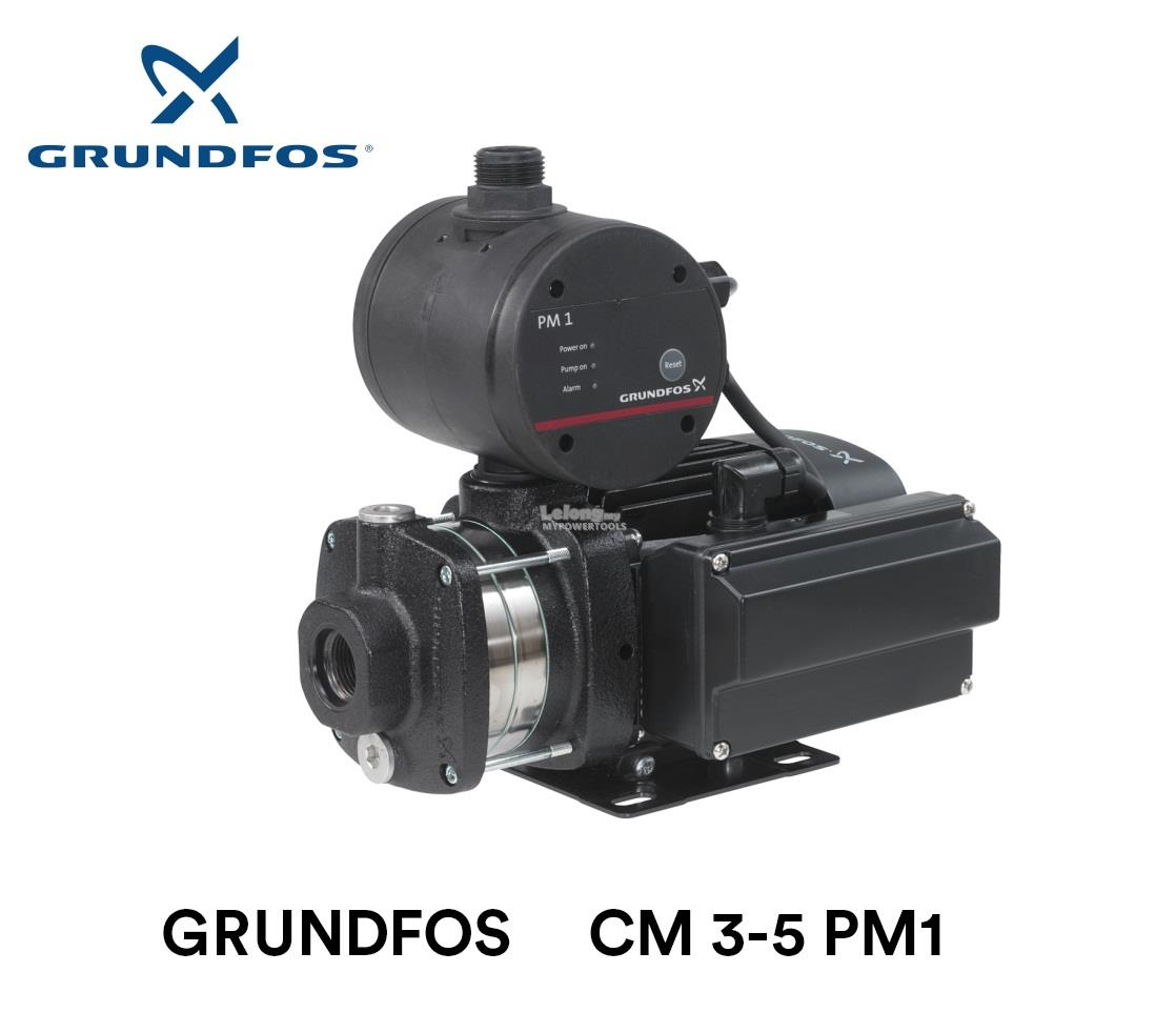 Grundfos 0.50kW Automatic Horizontal Multi-Stage Booster Pump