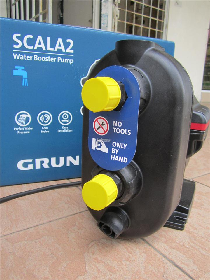 Grundfos SCALA2 Water Booster Pump - Perfect Water Pressure