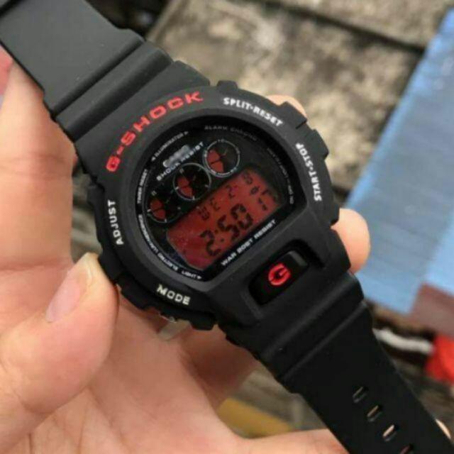 Gshock Dw 6900 Vampire Black Watch G Shock Jam Watches Red Warranty Vi