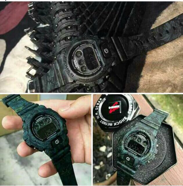 Gshock Flora 3230 digital unisex watch free Spinner