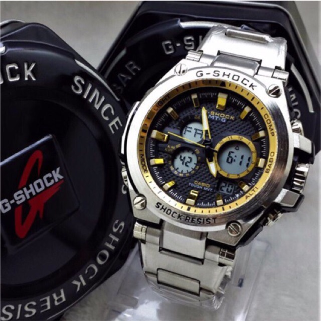 Gshock MT-G Stainless Steel Watches (end 6 5 2021 12 00 AM) fb1cf7165e74
