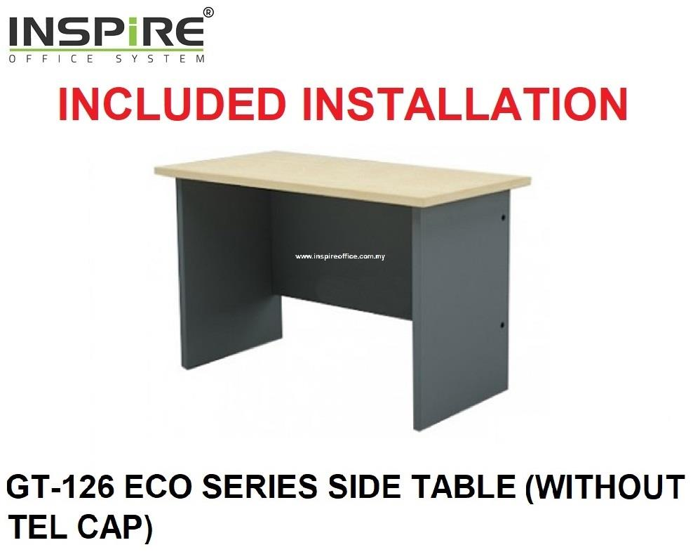 GT-126 ECO SERIES SIDE TABLE (WITHOUT TEL CAP)