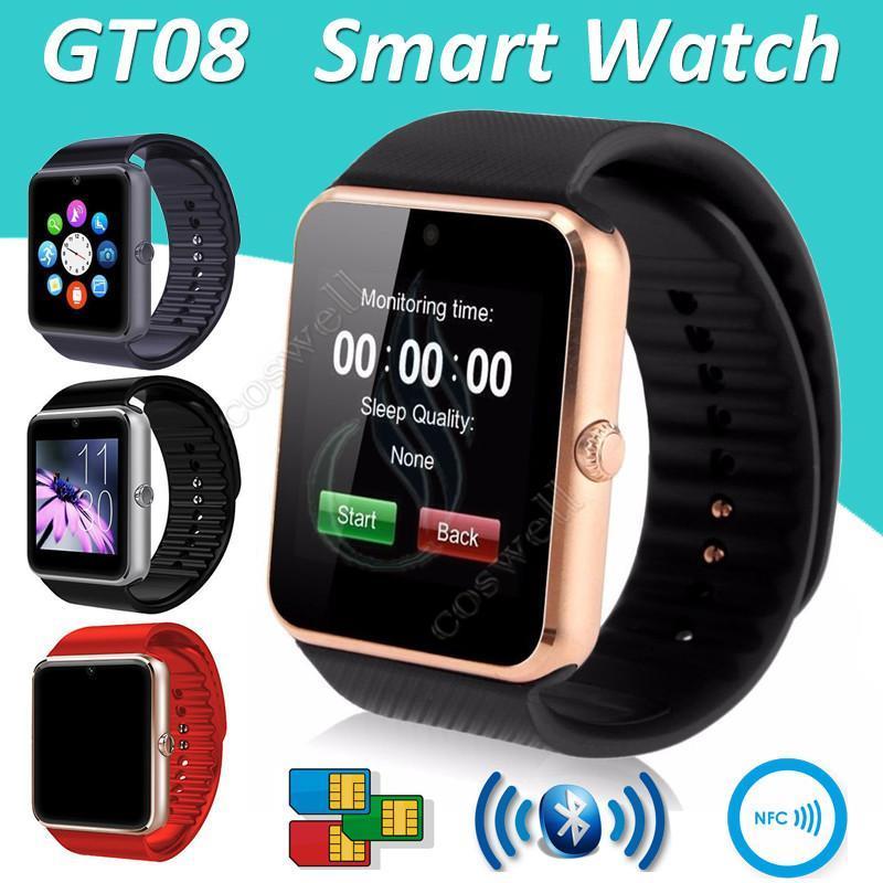GT08 Sim Card Android Bluetooth Camera Smart Watch DZ09 U8