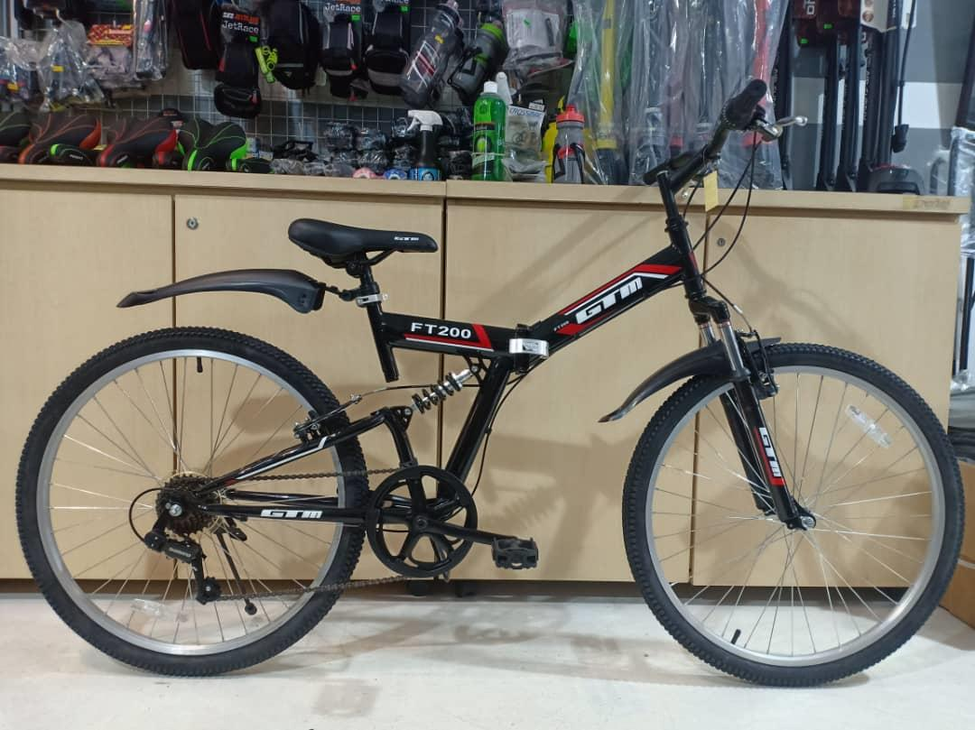 "GTM 26"" 7Sp Folding suspension Mountain Bike (free post)"