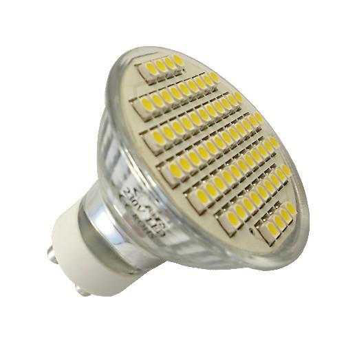 GU10 3W SMD 3528 48LED  Bright Day LIght