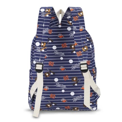 1311262c80 GUAPABIEN CANVAS TEENS PRINT BACKPACK TRAVELING SCHOOL BAG (LIGHT BLUE)
