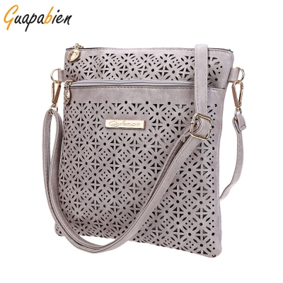Guapabien Ethnic Hollow Out Letter Embelllishment Flower Print Externa..