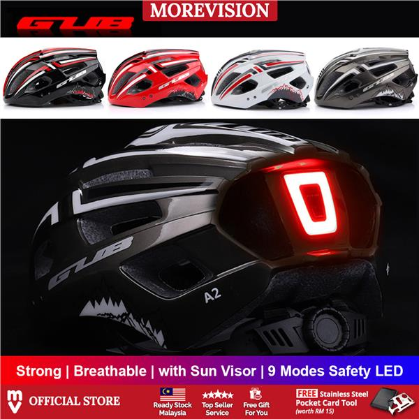 GUB A2 Bicycle Light Helmet Rechargeable Breathable Road MTB Mountain