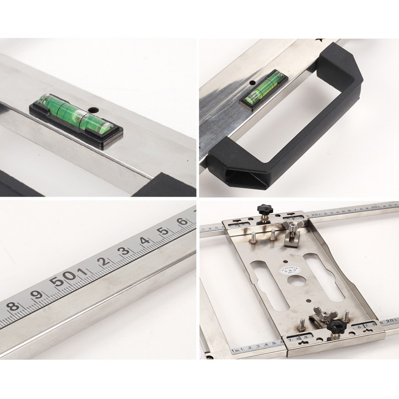 Saw Guide Rail For 4/5/7 Inches Electricity Ci - [C4IND CUTTING GUIDE]
