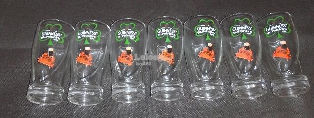 GUINNESS MINIATURE GLASS CUP (SET OF 7)