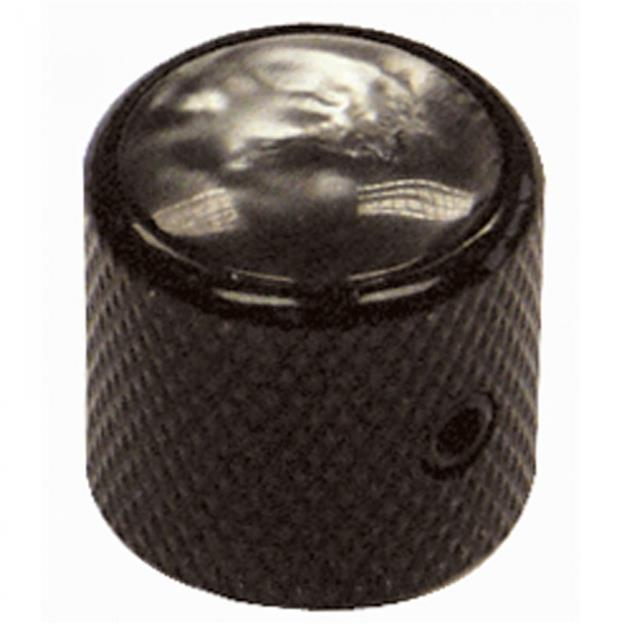 GUITAR TECH GT841 CONTROL KNOBS - BLACK/BLACK PEARLOID