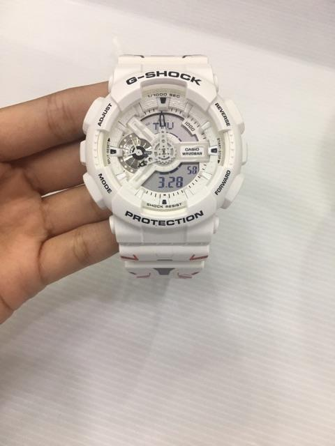 Gundam 40th Anniversary x GA-110MW-7A G-Shock Collaboration in China