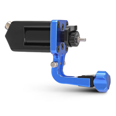Gustala 8137 Aluminium Alloy Rotary Tattoo Machine Liner Shader (BLUE)