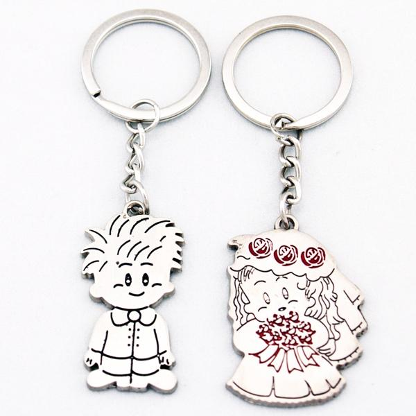 Guy Gal Wedding Marriage Lover Couple Key Chain Keychain K54