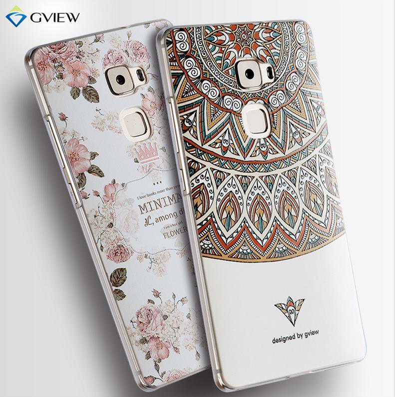nuovi arrivi 5a36b 49c9c Gview Huawei Mate S 3D Relief Back Case Cover Casing + Free Gifts