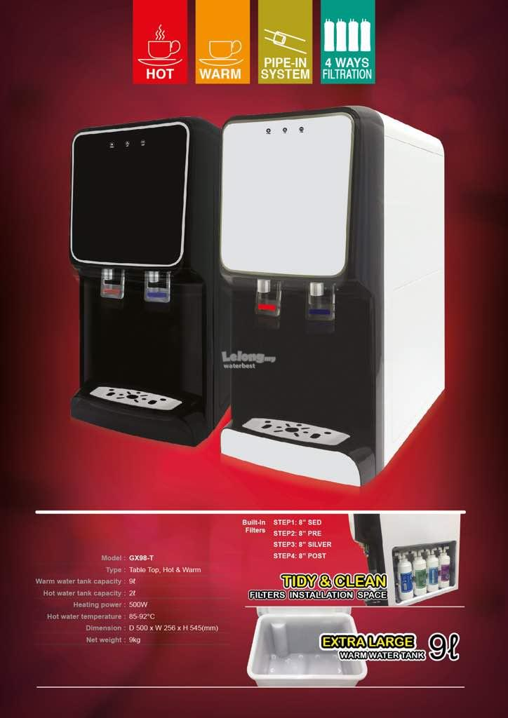 GX-98 ( Black ) Water Dispenser Purifier HOT & NORMAL