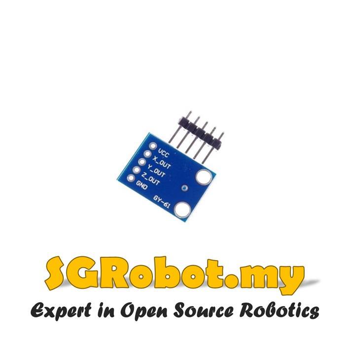 GY-61 ADXL335 Analog 3 Axis Accelerometer Arduino Sensor Module