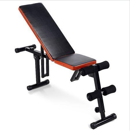 gym abs six pack sit up bench abdominal board fitness chair dumbbell