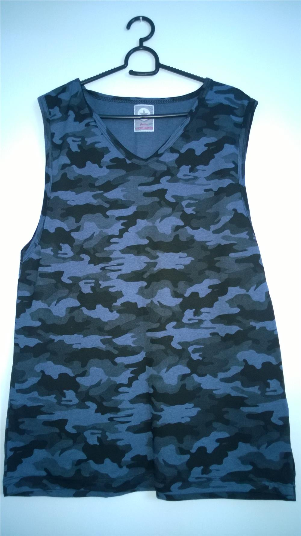 Gym army singlet multi colour high end pm