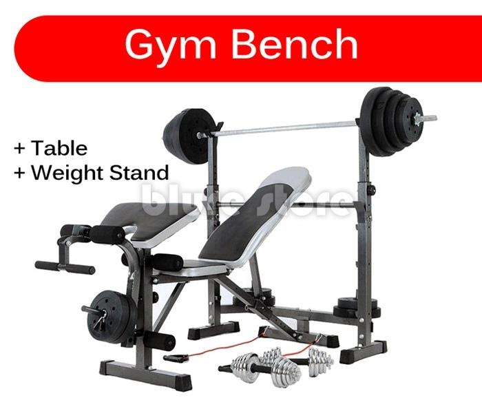 Tremendous Gym Bench With Table Dumbell Stand Upgrade Alphanode Cool Chair Designs And Ideas Alphanodeonline