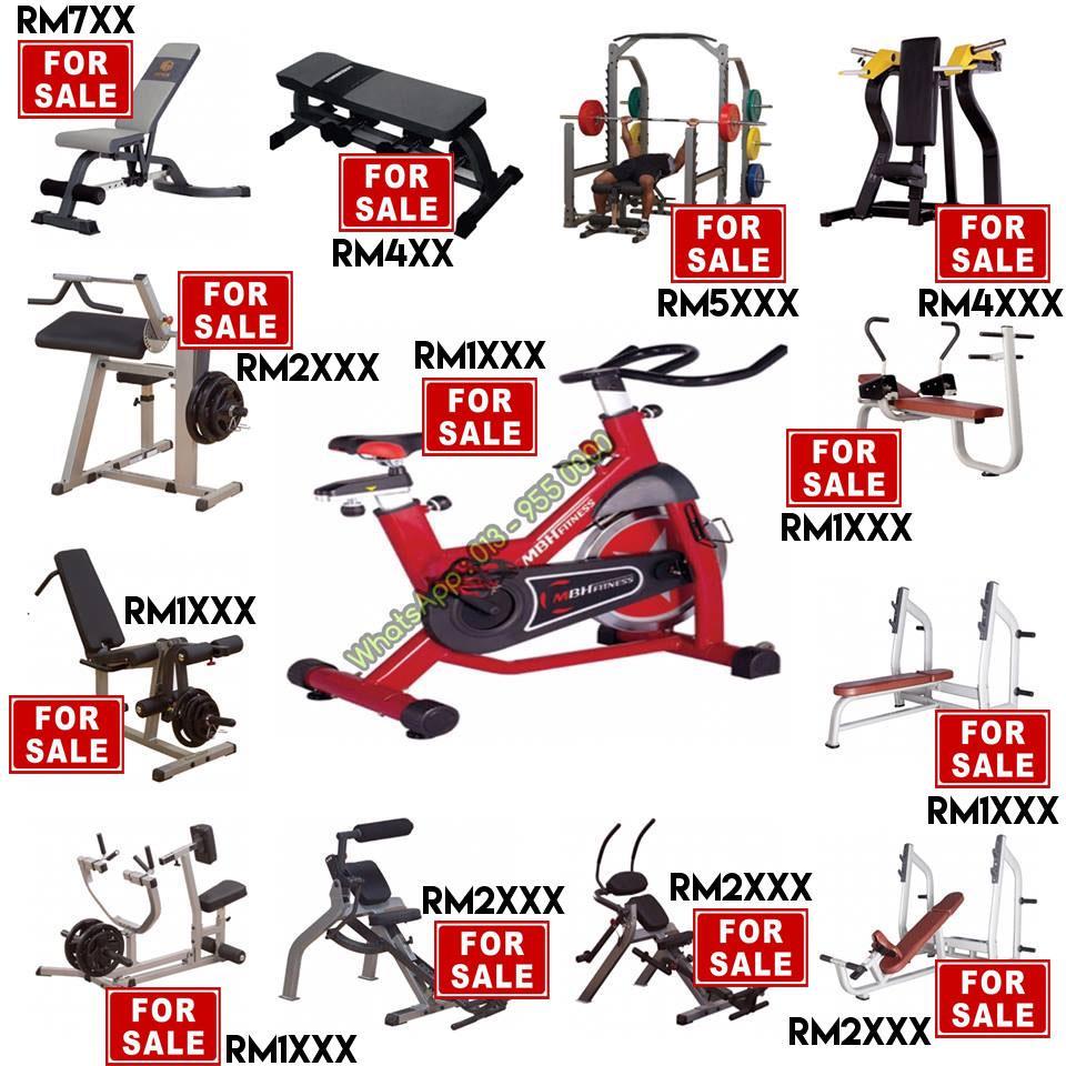 188d34fe3c68e Used Gym Equipment for sale ( COD : Kuala Lipis Bandar Baru - PAHANG )
