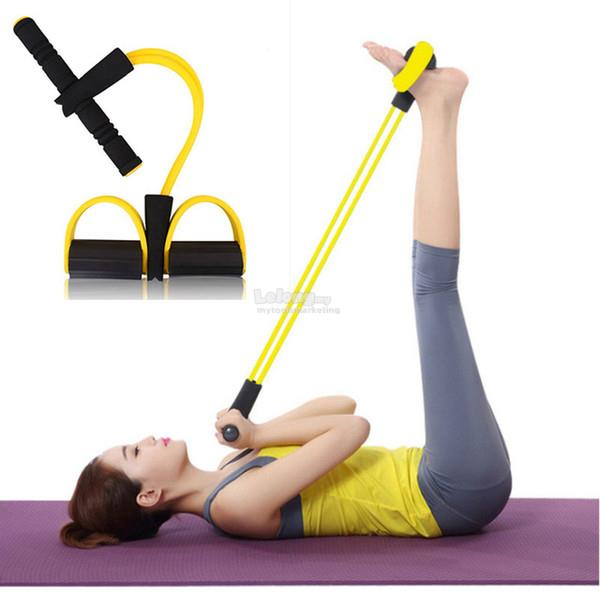 Exercise Stretch Bands Equipment: Gym Fitness Body Trimmer Exercise Fo (end 1/22/2019 9:15 PM