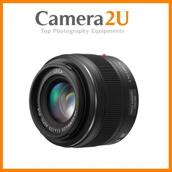 New H-X025 Panasonic LEICA DG SUMMILUX 25mm F1.4 Lens (Import)