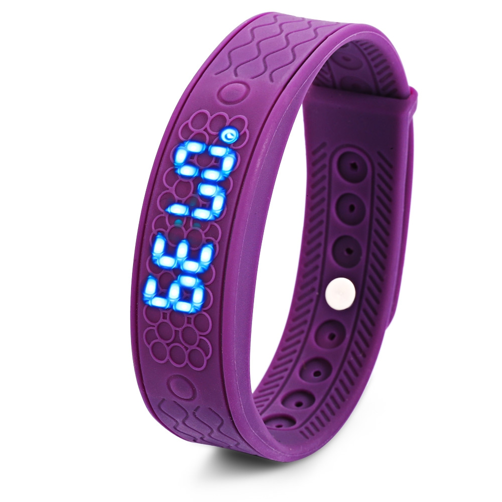 H5S HEART RATE MONITOR SMART WRISTWATCH (PURPLE)