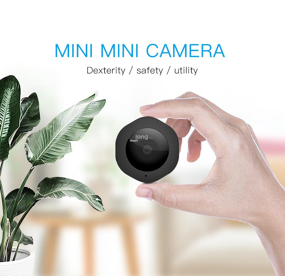 H6 DV/Wi-Fi Micro Camera Night Version Mini Action Cam with Motion Cam