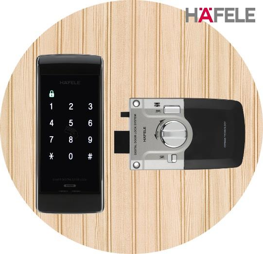 Hafele ER4800 Card Access Pin Code Digital Door Lock