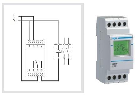Hager Timer Wiring Diagram Somurich com