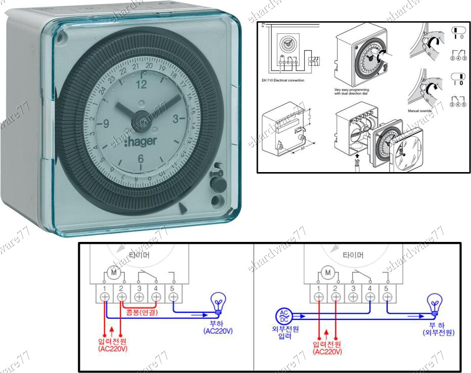 Hager Time Switch Wiring Diagram - DIY Enthusiasts Wiring Diagrams •