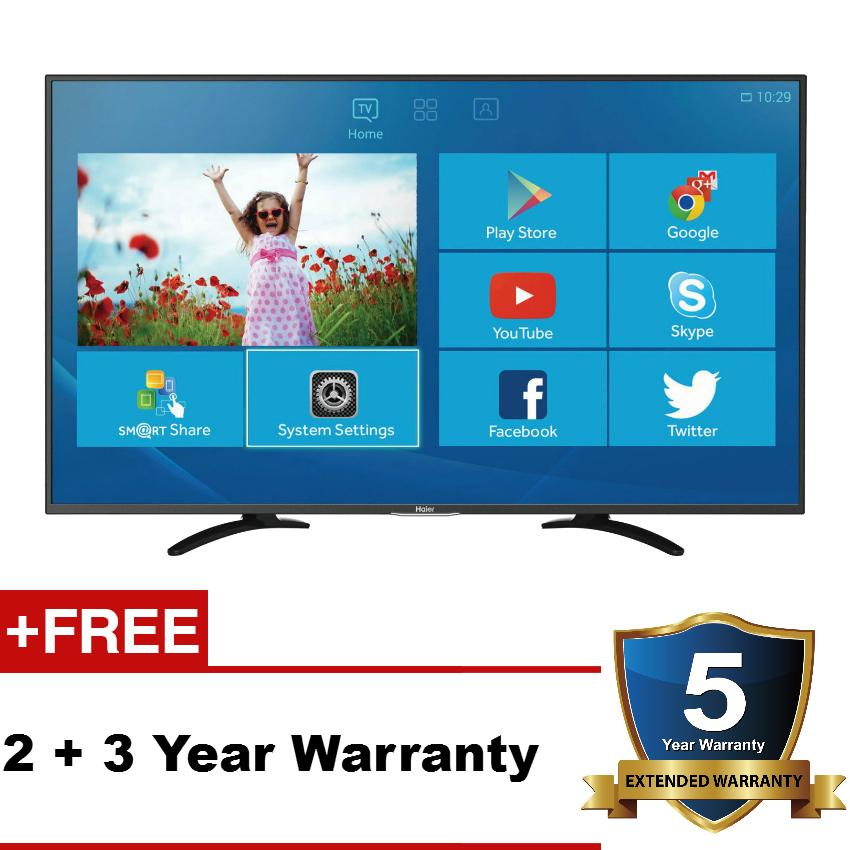 haier tv 50 inch. haier le43u5000 43-inch smart android led tv tv 50 inch