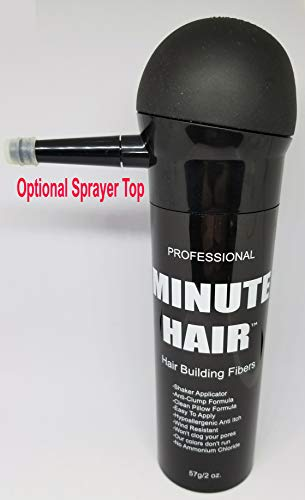 Hair Building Fibers - Buy 57 Grams (2 oz) And Get It In A FREE Refillable Sha