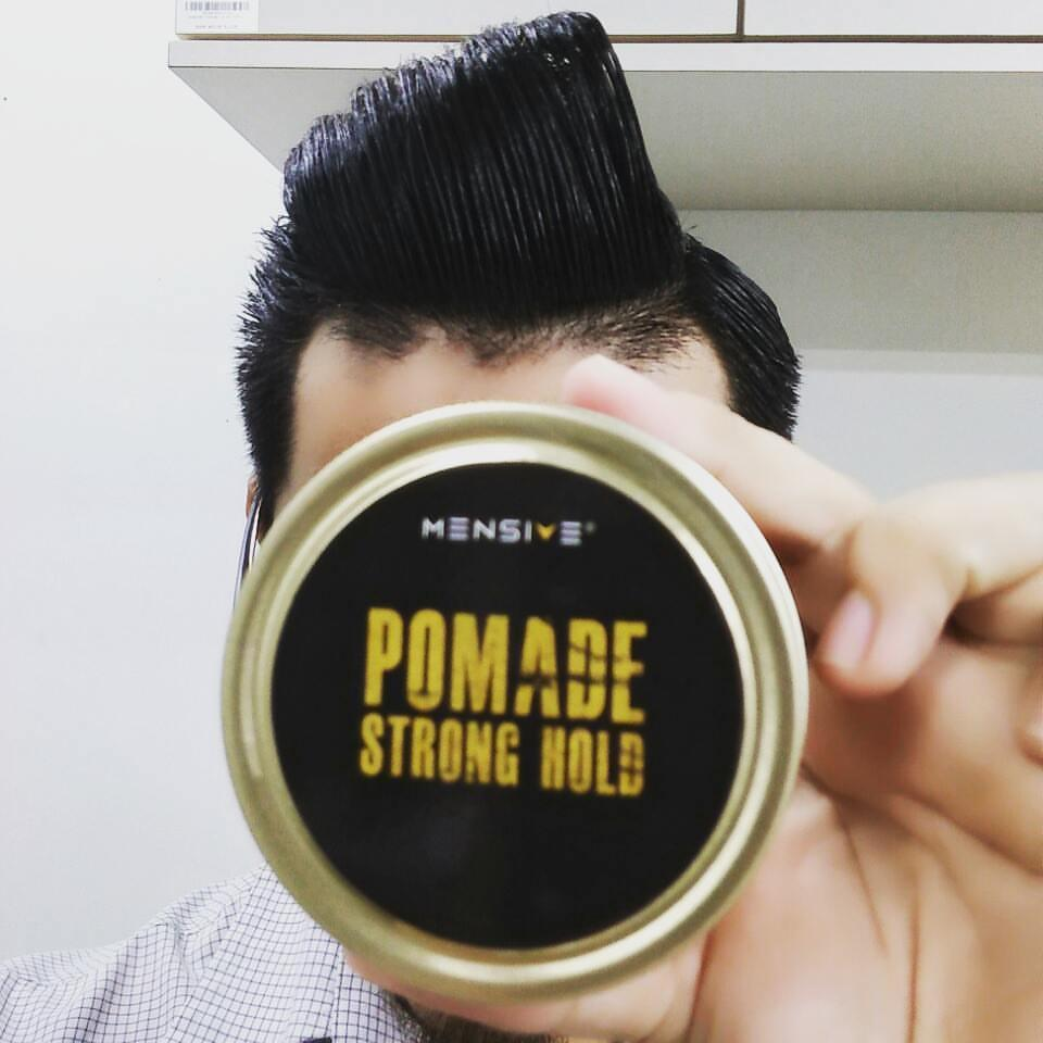 Hair Style Pomade Mensive 150gm  PROMO Strong Hold