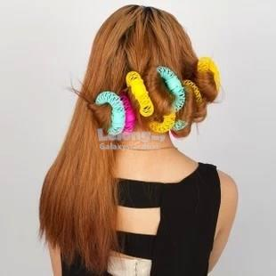 Hair Styling Roller Hairdress-Easy Magic Bendy Donut Kid Curler Spiral