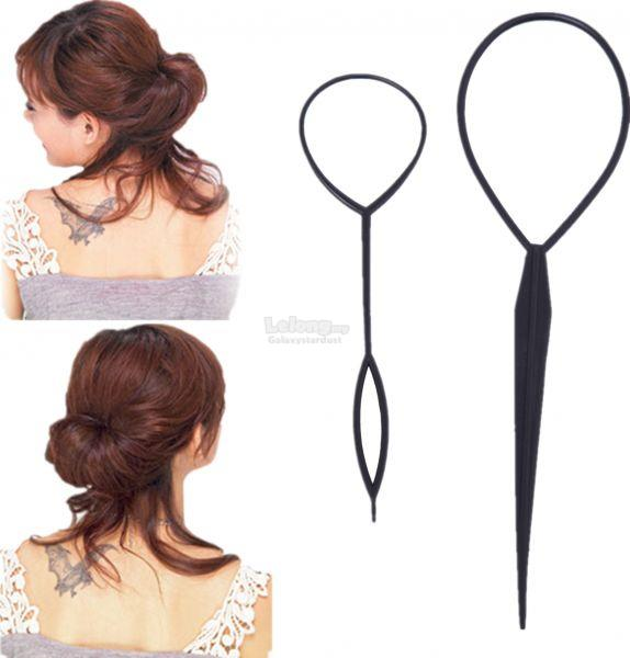 Hair Twist Arrangement Pull Stick-Hairdisk Updo Tool-Hairdressing Pin