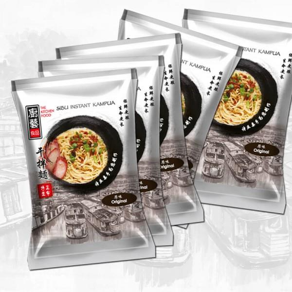 [NON HALAL] The Kitchen Food Instant Kampua Noodle Original