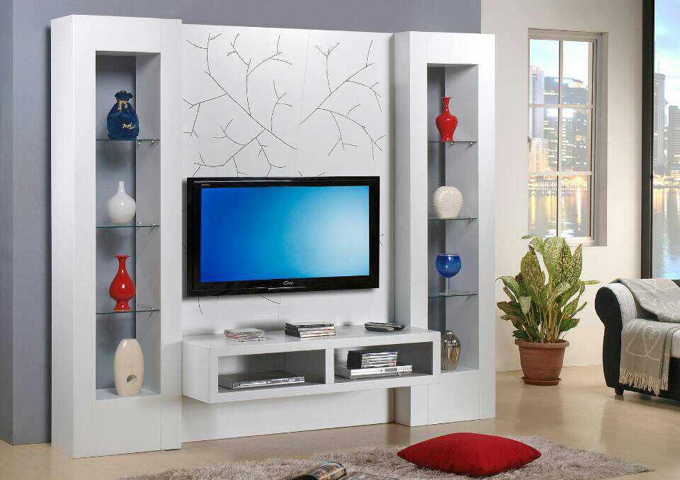 Drawing Room Tv Cabinet Design