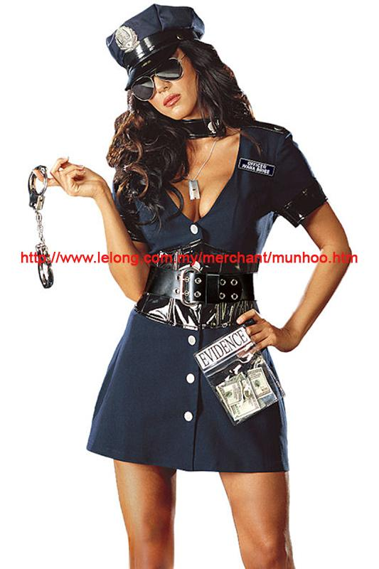 Halloween Cosplay Uniform Dress Costume 08