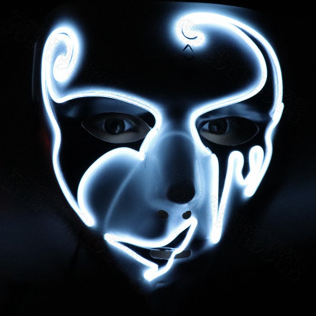halloween mask led masks glow scary (end 1/20/2019 4:37 pm)