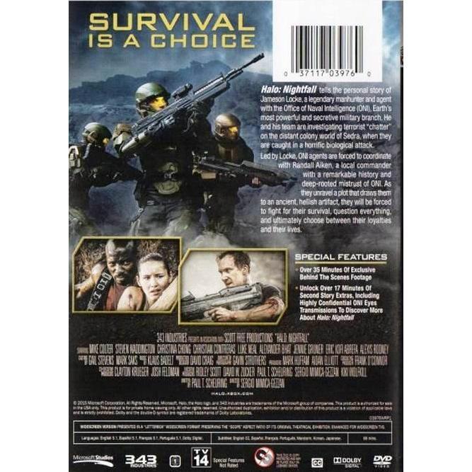 Halo Nightfall Movie Dvd End 4 9 2021 12 00 Am