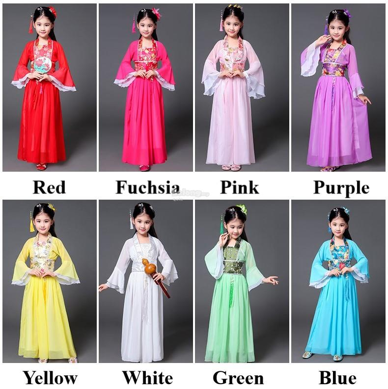 Han Dynasty 2018OT – Classical Cheongsam for girls