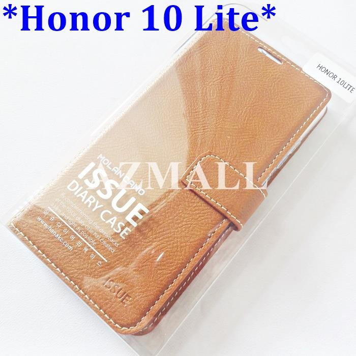 "HANA ISSUE Diary Wallet Case Leather Flip Cover Honor 10 Lite (6.21"")"