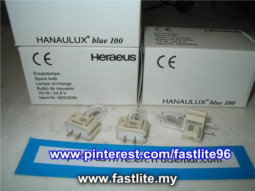 Hanaulux Blue 100 (Maquet) 22.8v 11w OT/Medical bulb