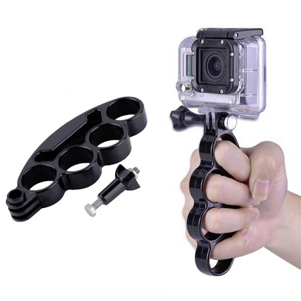 Hand Finger Grip Mount Handle Holder For GoPro SJCAM