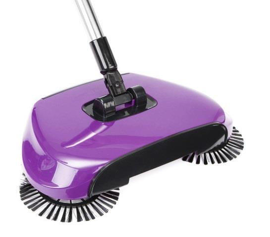 Hand Push Sweeper Spin Broom Household Floor Dust Cleaning Mop