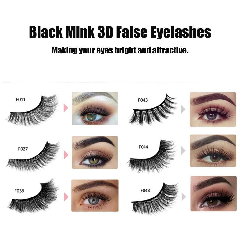 c3548167b06 HANDAIYAN Fashion Charming Eyelash Mink 3D Natural False Eyelashes Handmade  Re